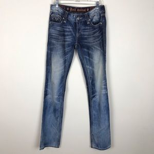 Rock Revival Alanis Straight Jeans Size 31